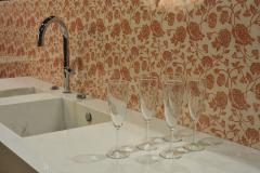 Стеновая панель Vitrodesign by Ligron, поверхность глянцевая, декор арт. 483 Милагро